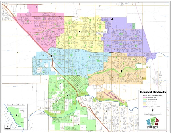 View the City Council Districts Map on GIS