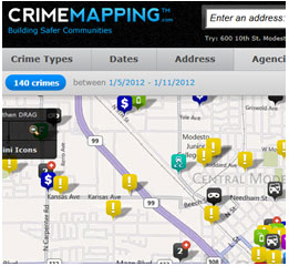 Image of the Crime Map