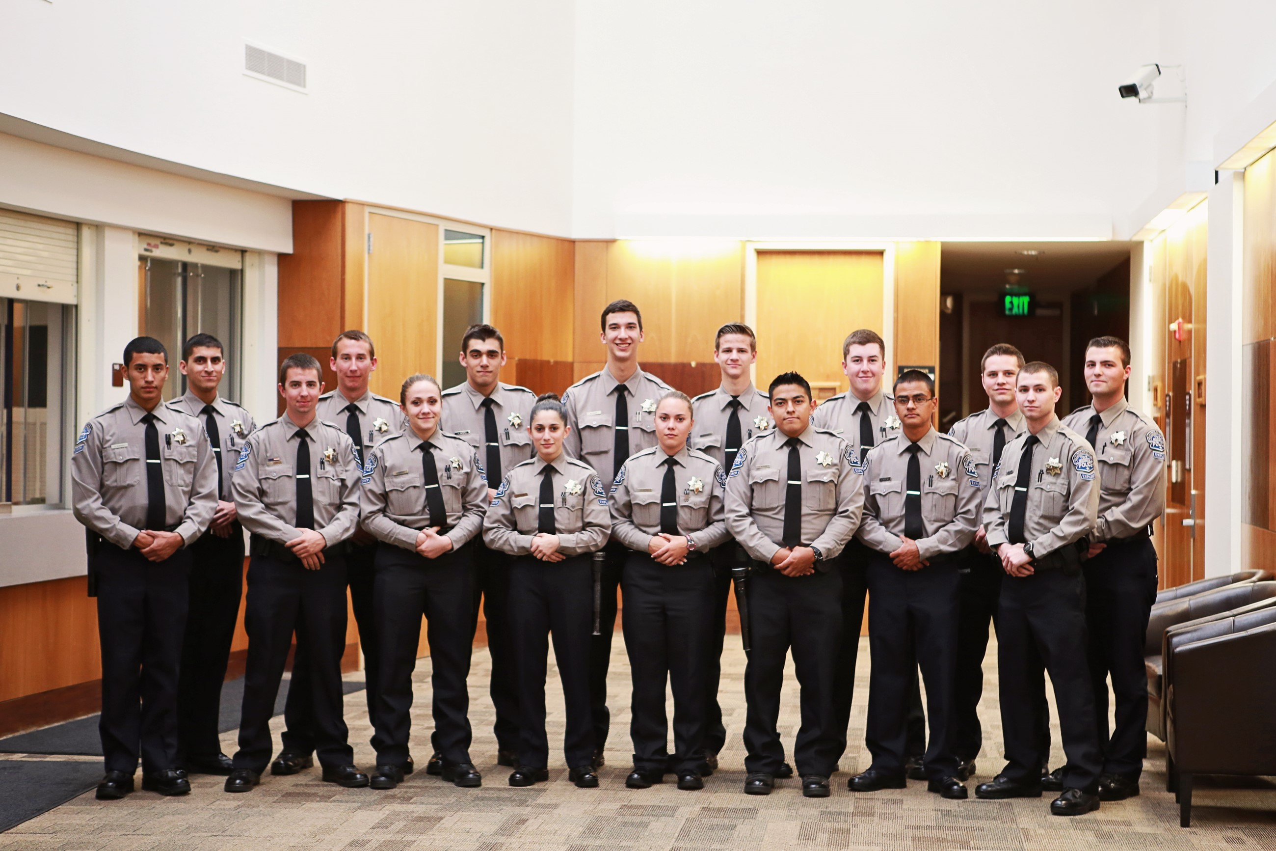 Modesto Police Department Explorer Post 219 Group Photo