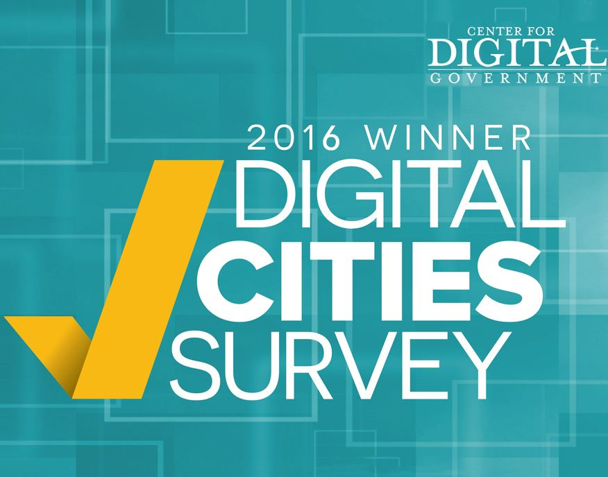 2016 DigCities Winner  - Center for Digital Government