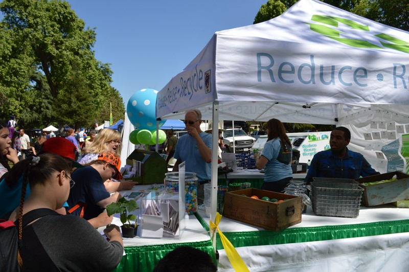 Reduce - Reuse - Recycle Booth