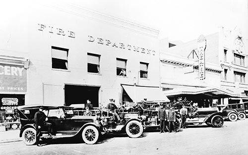 Historic Fire Department 205